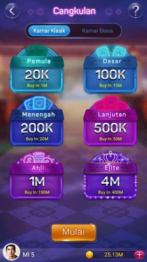 Kartu Cangkulan ( Game Lokal ) 2.5.2 screenshots 13