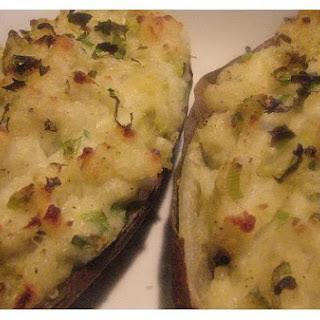 Ancho Chili and Cheddar Stuffed Potatoes