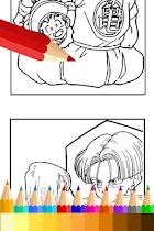 Coloring Book for Super Saiyan - screenshot thumbnail 02