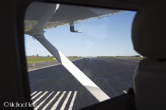 Photo: Cleared for take-off runway one four
