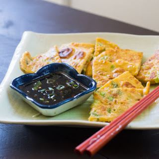 Pajeon (Korean Scallion Pancake).