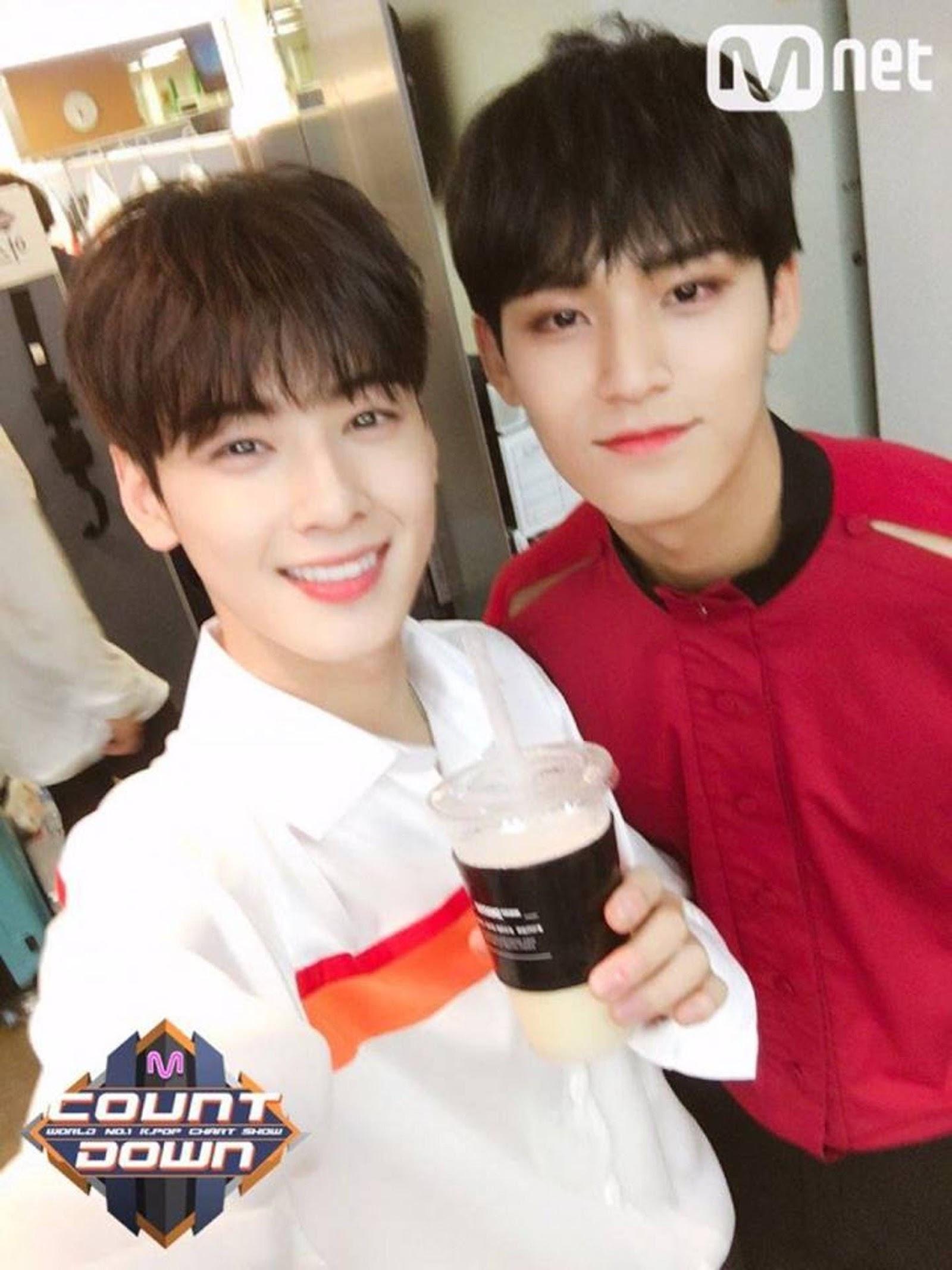 chaeunwoo mingyu friends 1
