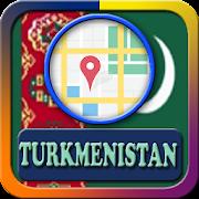 Turkmenistan Maps