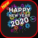 Happy New Year GIF 2020 icon