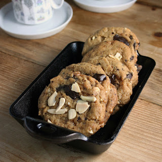 Coffee Heath Bar Crunch Cookies