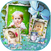 Baby Photo Frame Collage