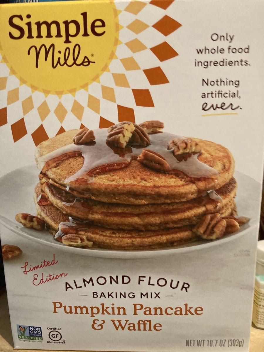 Almond Flour Baking Mix - Pumpkin Pancake & Waffle