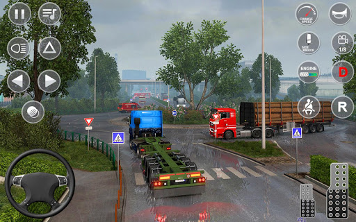 Euro Truck Transport Simulator 2: Cargo Truck Game screenshots 21