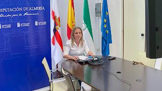 María Luisa Cruz, diputada de Deportes.