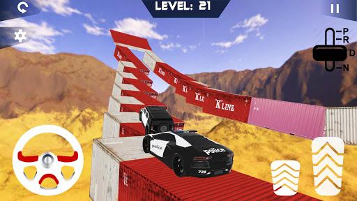 Police Jeep Stunts On Impossible Tracks image | 2