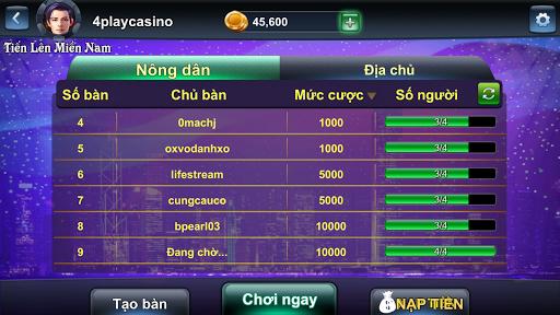 4Play - Tien Len Online TLMN-15 3
