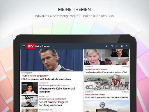 ntv Nachrichten 6.2.0.3 screenshots 13