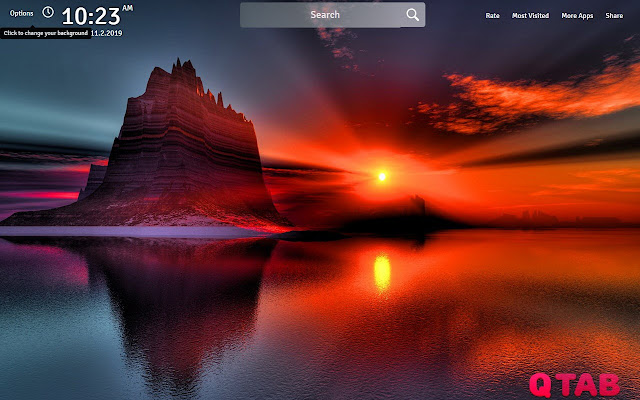Sunset Wallpapers Theme Sunset New Tab