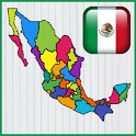 Mapa de Mexico Juego icon