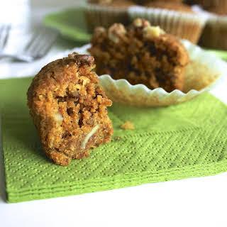 Vegan Carrot Cake Muffins.