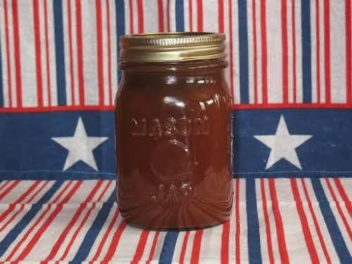 "Southern Peach, Vidalia Onion & Bourbon BBQ Sauce ""Excellent BBQ sauce recipe!..."