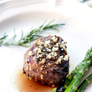 10 Garlic Clove Marinated Grilled Filet.