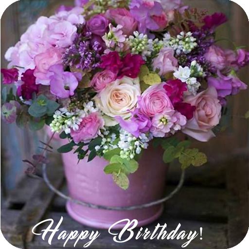 Birthday Flowers Cards Social App