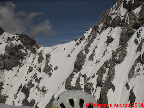 Photo: IMG_8864 il canale di accesso al Passo di Solda, a domani