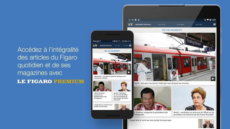 Le Figaro.fr: Actu en direct Screenshot 9