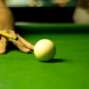 There is only one skill- Concentration by Raja Abhishek Reddy - Sports & Fitness Cue sports ( billiards, pool, cue, snooker )