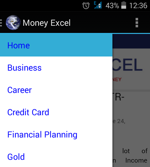 Money Excel- screenshot