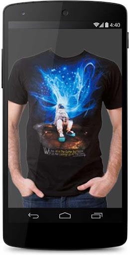 Famous Man T-shirt Photo Suit