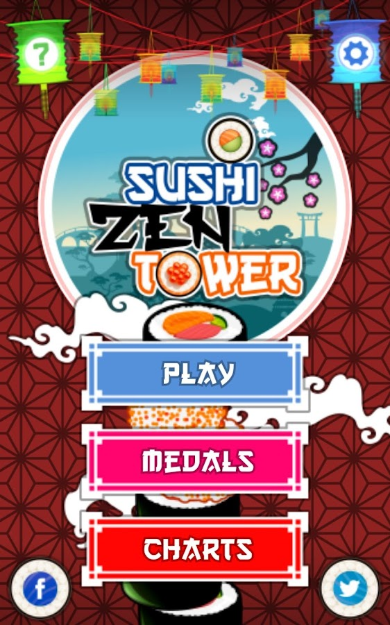 Sushi Zen Tower- screenshot
