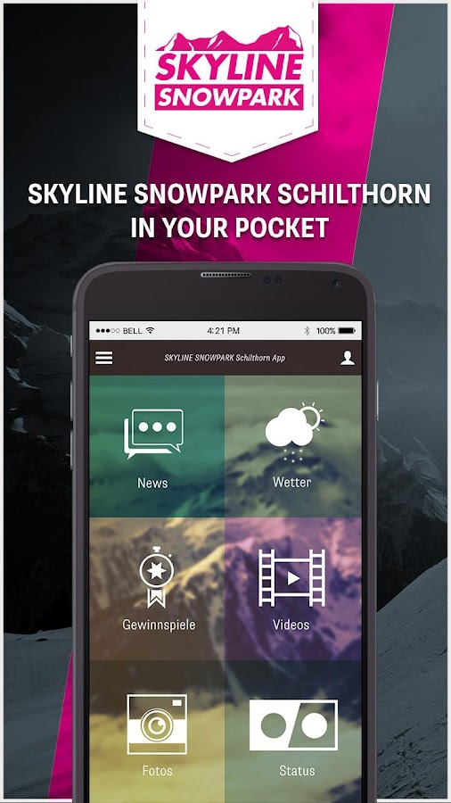 SKYLINE SNOWPARK Schilthorn- screenshot