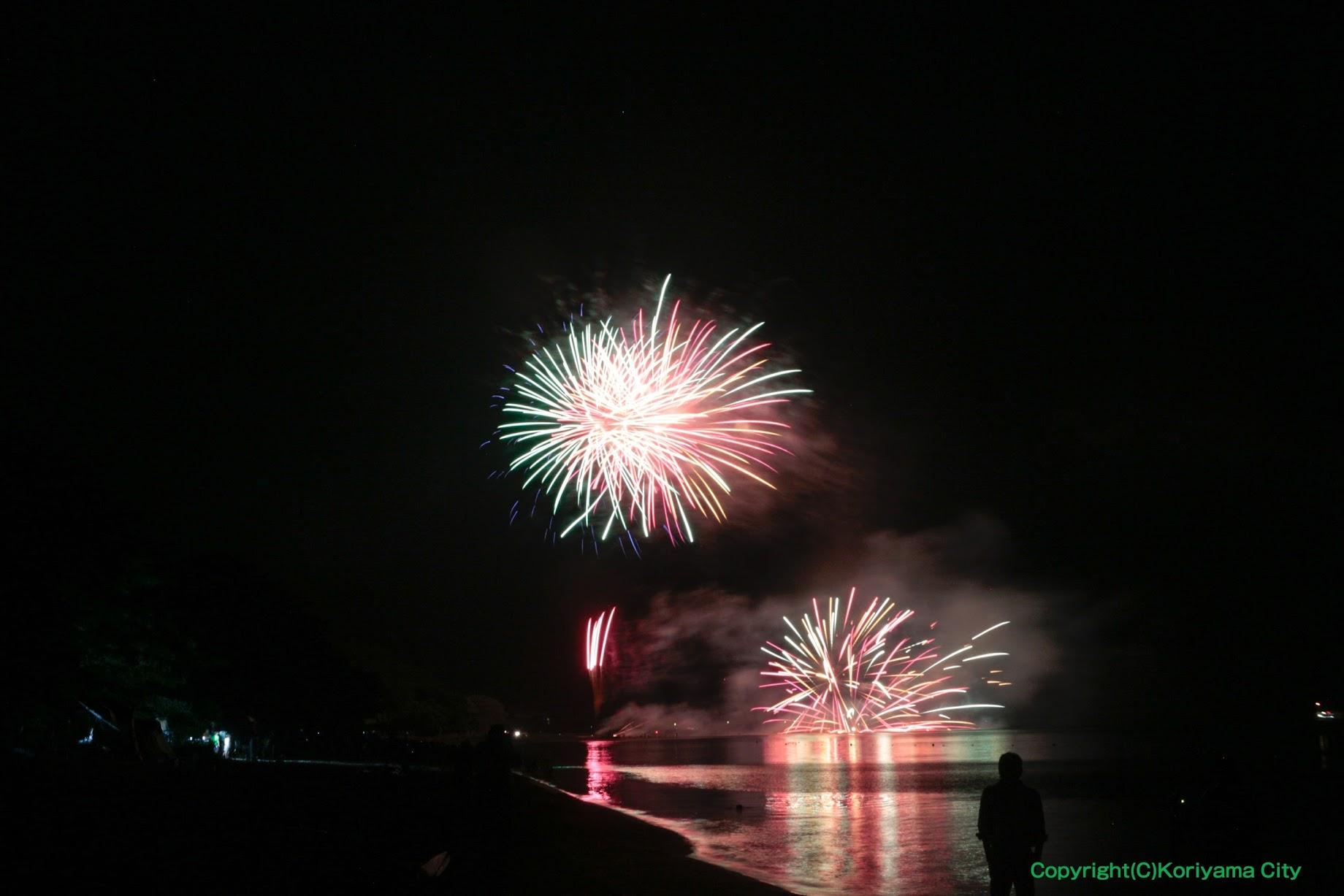 湖まつり花火大会 / 猪苗代湖