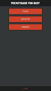 PocketGuide for Rust - náhled