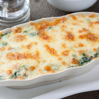 Creamy Chicken and Spinach Bake