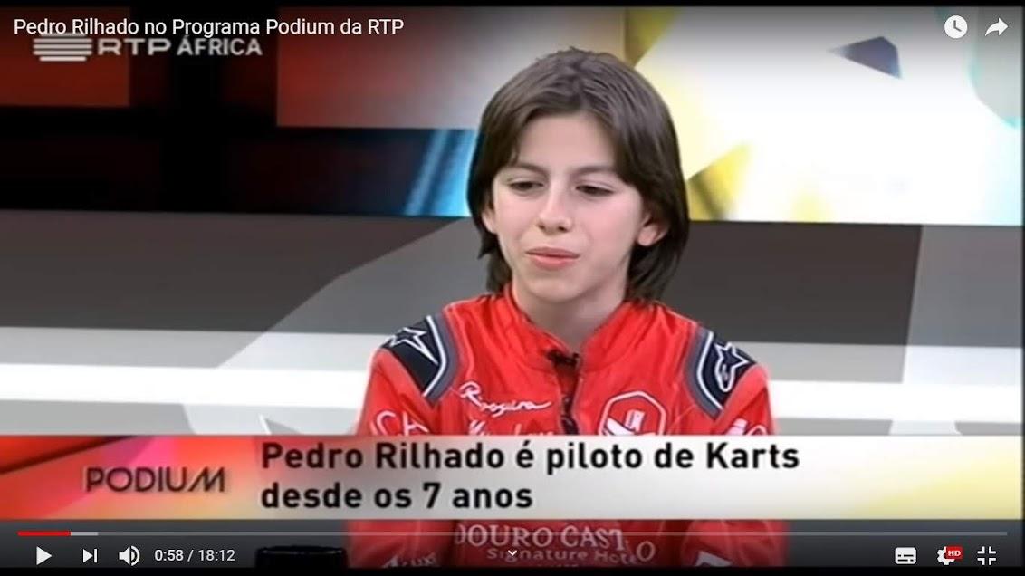 Vídeo - Pedro Rilhado no Programa Podium da RTP