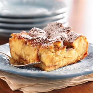 Maple Breakfast Bread Pudding.
