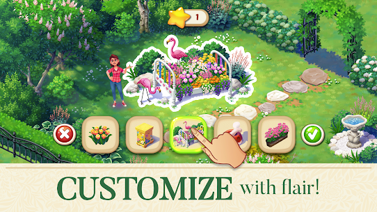 Lily's Garden Mod Apk 1.62.1 (Unlimited Coins + Unlimited Stars) 4