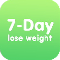 7-Day : lose weight icon