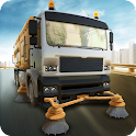 Road Sweeper City Driver 2015 icon