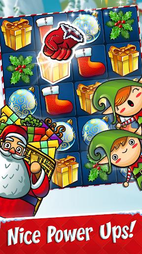 Xmas Swipe - Christmas Chain Connect Match 3 Game apktreat screenshots 2