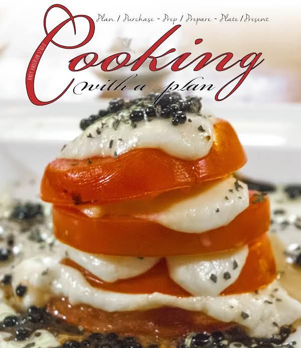 Tomato & Mozzarella With Balsamic Pearls Recipe