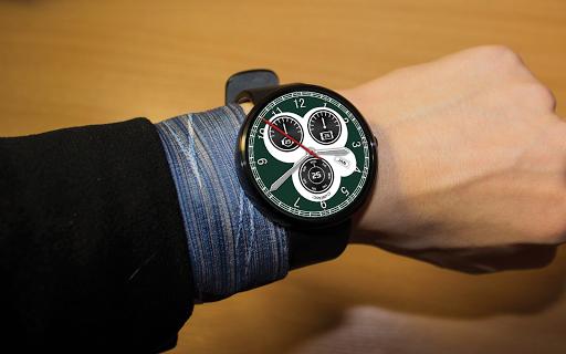 Skymaster Aviator Watch Face