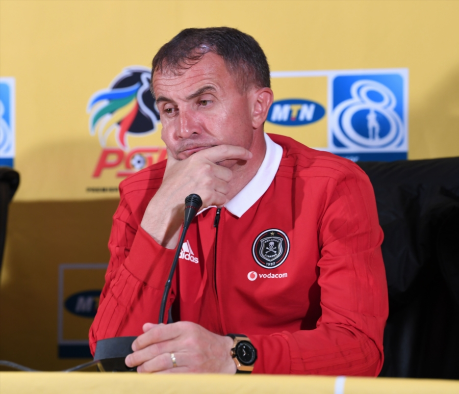 'In football you have no time to relax'' 'Micho' reminds Orlando Pirates