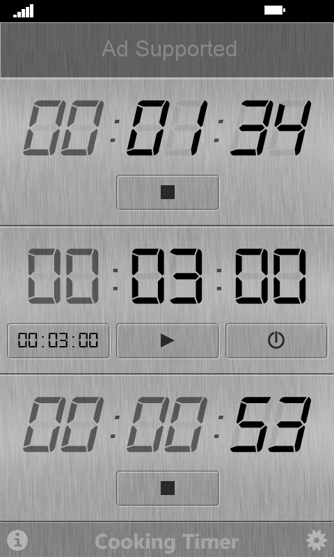 Cooking Timer- screenshot