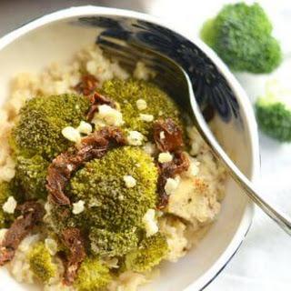 One Pan Chicken Broccoli Brown Rice Casserole {GF, Low Cal}.