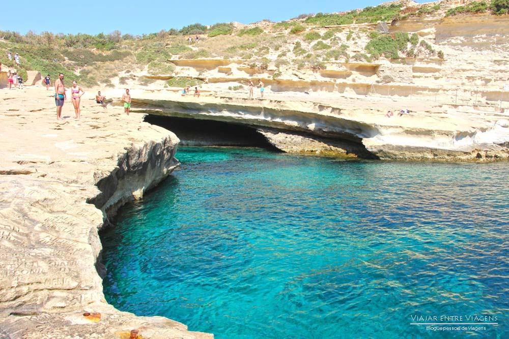 Visitar a Piscina de São Pedro (St. Peter's Pool) | Malta