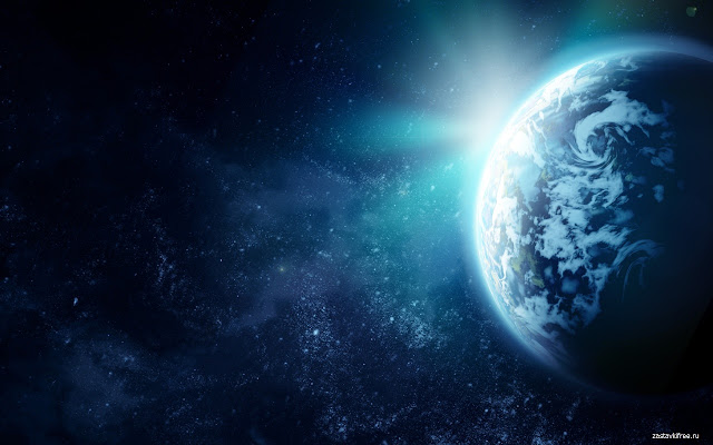 Earth And Moon 3d Wallpaper Earth In Space Chrome Web Store