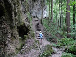 Photo: Beim Hinanger Wasserfall
