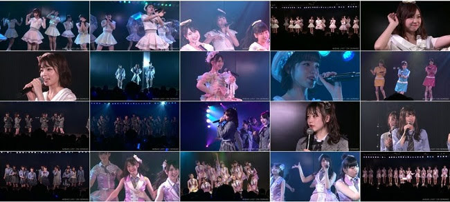 [TV-Variety] AKB48 チーム8 湯浅順司「その雫は、未来へと繋がる虹になる。」公演 横山結衣 生誕祭 (2019.07.07)