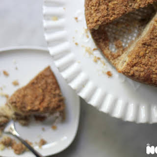 Sour Cream Apple Coffee Cake.