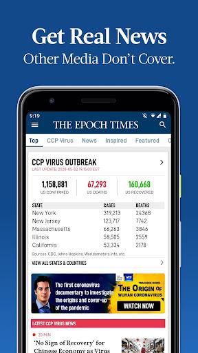 The Epoch Times: Live & Breaking News screenshot 1