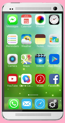 OS8- Phone6 Plus Launcher